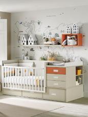 Cuarto del bebé en Todojoven S.L. Mobiliario Juvenil
