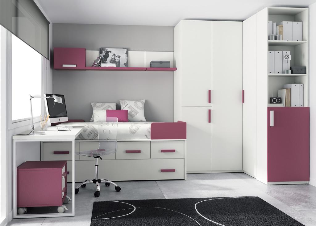 Todojoven s l habitaci n infantil y juvenil for Roperos empotrados para dormitorios juveniles