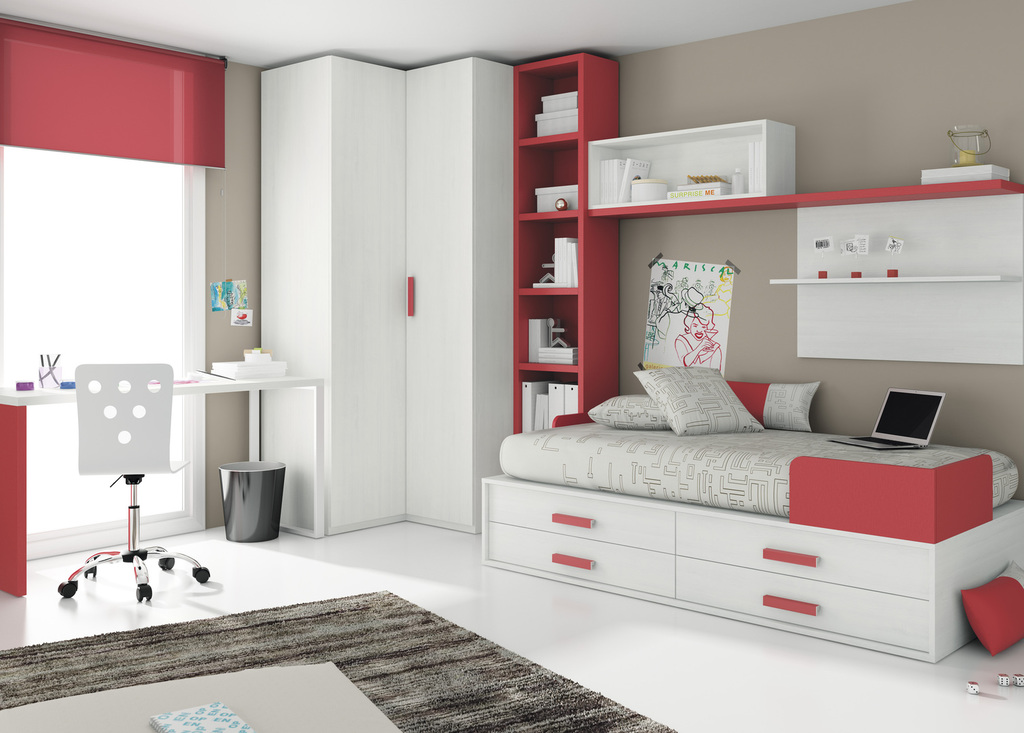 Todojoven s l habitaci n infantil y juvenil - Habitaciones en blanco ...