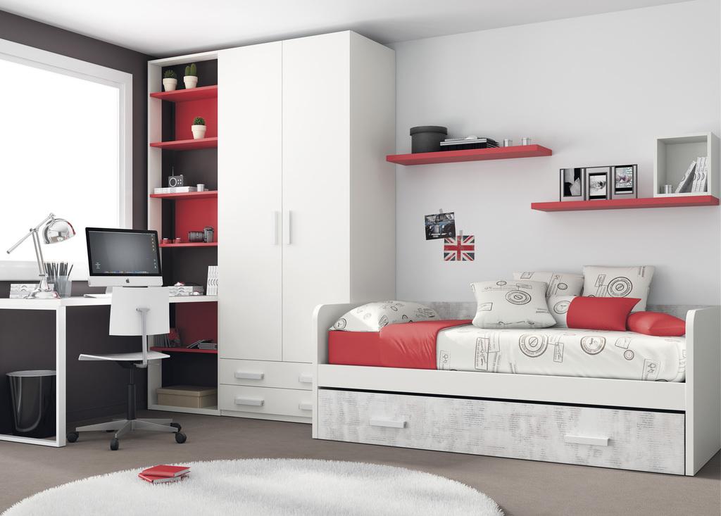 Todojoven s l habitaci n infantil y juvenil for Habitacion infantil juvenil