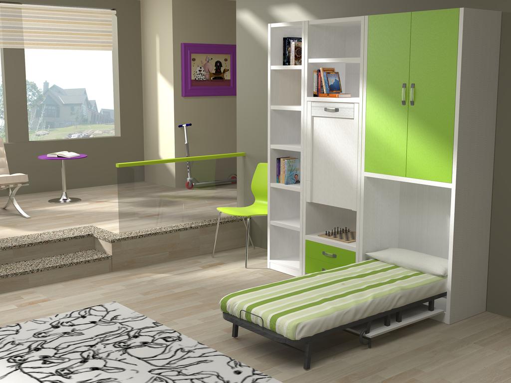 Dormitorios juveniles en barcelona stunning dormitorio - Camas abatibles barcelona ...